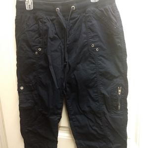 Ankle length cargo pants